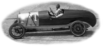 1915 Brooklands racing car