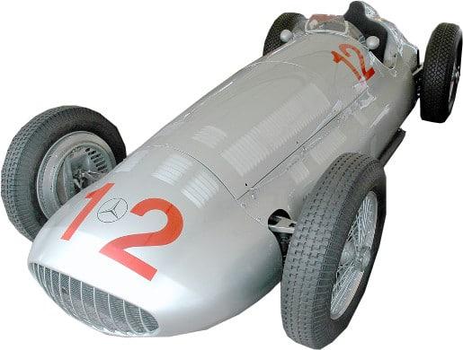 1930's f1 car