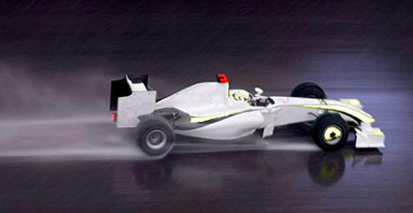 Jenson Button of Brawn GP 001